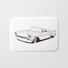 1957 Custom Belair Bath Mat