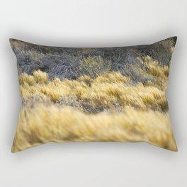 Windy Pampa Gold Herb Rectangular Pillow
