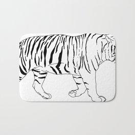 Walking Tiger Bath Mat