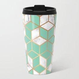 Marble & Geometry 009 Travel Mug