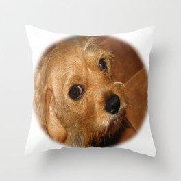 Ruby (Cavestie) Throw Pillow