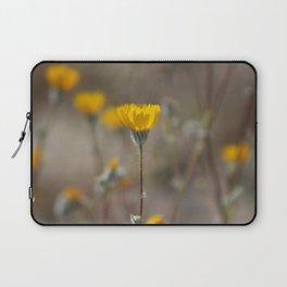 Closeup Desert Sunflowers Coachella Wildlife Preserve Laptop Sleeve