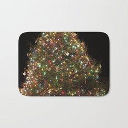 Rockport's Christmas tree Bath Mat