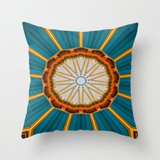 Merging Colours IIII Throw Pillow