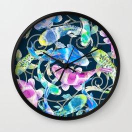 Catch a Koi Wall Clock