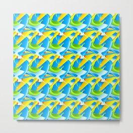 3D Pattern_02 Metal Print