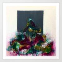 Overflowing II Art Print