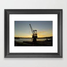 The Forgotten Crane Framed Art Print