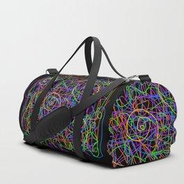 Neon Strings Duffle Bag