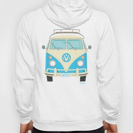 Mid Century Modern Micro Bus by Art of Scooter Hoody
