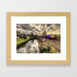 An HST at Little Bedwyn  Framed Art Print