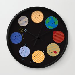 Say Hello to the Solar System Wall Clock