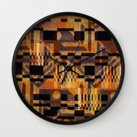 art deco Wall Clocks featuring art deco by clemm