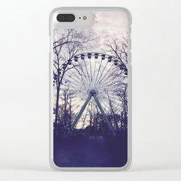 Ferris Wheel Clear iPhone Case