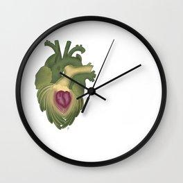 Cor, cordis (artichoke heart) Wall Clock