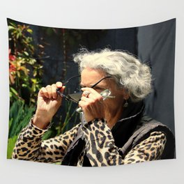 Six Eyes Wall Tapestry