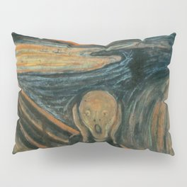 Classic Art - The Scream - Edvard Munch Pillow Sham