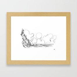 Surf's Up Short Sands Framed Art Print