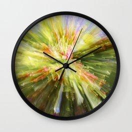 Flower Burst Wall Clock