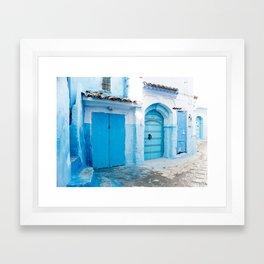 Chaouen Framed Art Print
