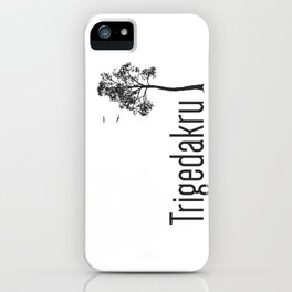 Trigedakru  iPhone Case