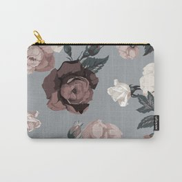 Floral, Romantic, Roses, Flowers, Carry-All Pouch