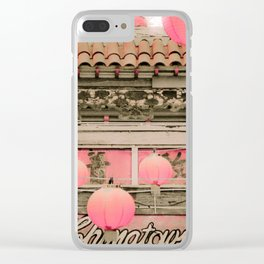 Los Angeles Chinatown Sign Clear iPhone Case