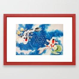 Equilibria Framed Art Print