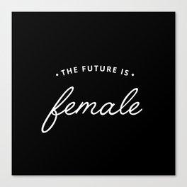 A Female Future Canvas Print