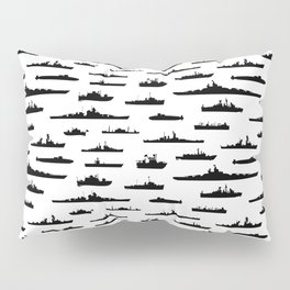 Battleship Pillow Sham