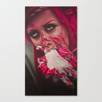cake Canvas Prints featuring Cake  by kellyeden