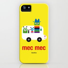 Mec Mec iPhone Case