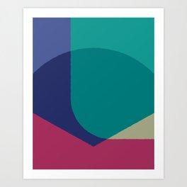Cacho Shapes XCVII Art Print