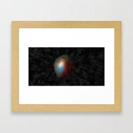 Apple World Framed Art Print