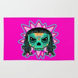 Cute Skull Vampire Rug
