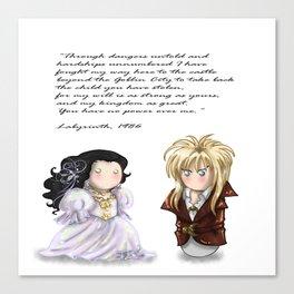 SW Couple+Halcon Canvas Print