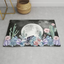 Desert Nights Gemstone Oasis Moon Night Rug