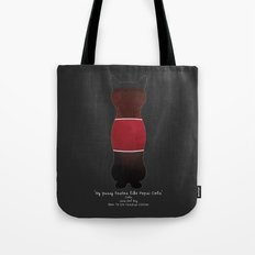 My Pussy Taste Like Pepsi Cola - Red SFW Version Tote Bag