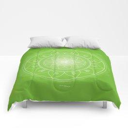 ANAHATA Boho mandala Comforters
