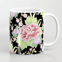Kimono Bouquet Chintz Coffee Mug