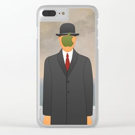 Magritte x Apple Clear iPhone Case