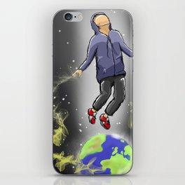 Below My Feet iPhone Skin