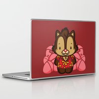 dale cooper Laptop & iPad Skins featuring Hello Dale by Hoborobo