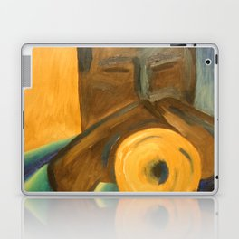 The Trumpet Player Laptop & iPad Skin