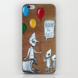 b'loons for sale (the b'loon vendor) iPhone Skin