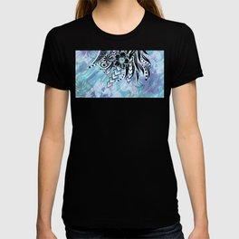 Hawaiian Tribal Floral T-shirt