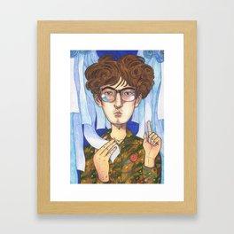 Little Jarvis Framed Art Print