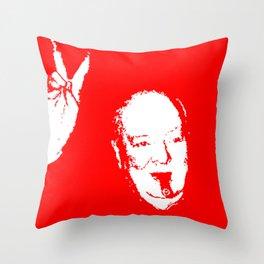 Churchill Fifteen Throw Pillow