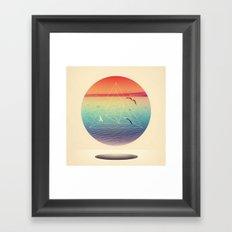 Lapse In Perception Framed Art Print