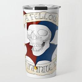 Hamlet: Yorick Travel Mug